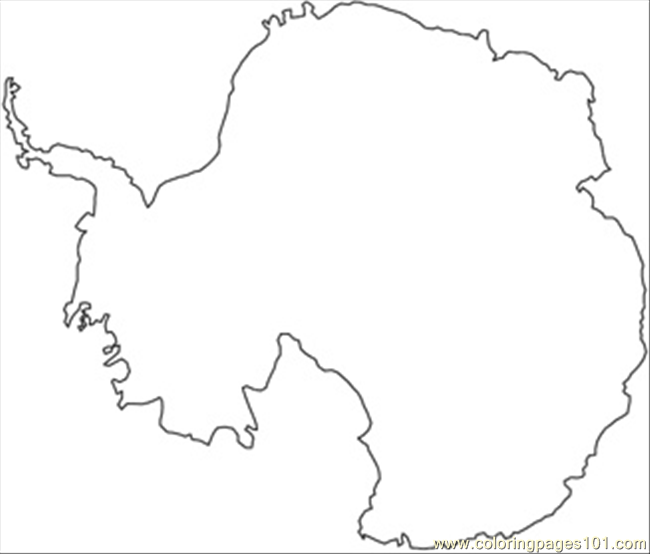 Free Coloring Pages Of Continent Of Asia