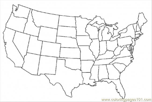 map usa states free printable  28 images  printable map of usa