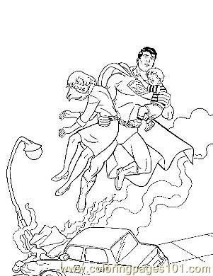 Pin onae colorear marvel comicssuperman on pinterest for Marvel comics coloring pages