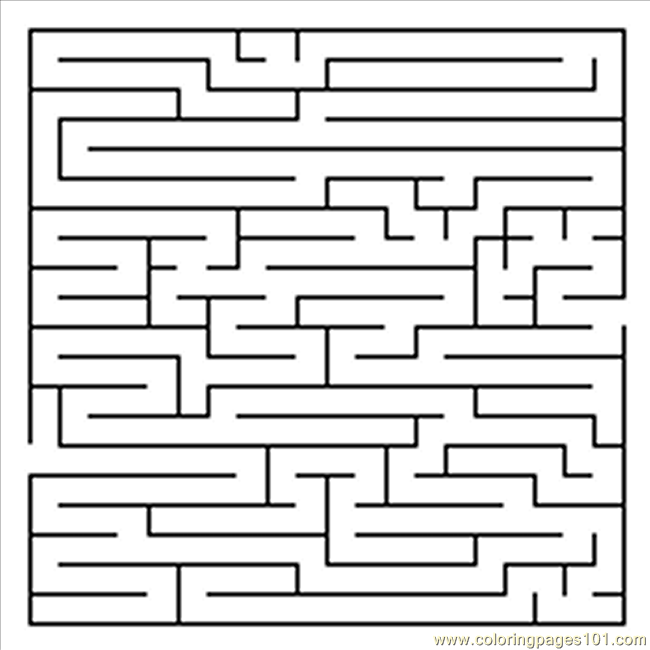 Pages 09 Entertainment gt Mazes free printable coloring page online