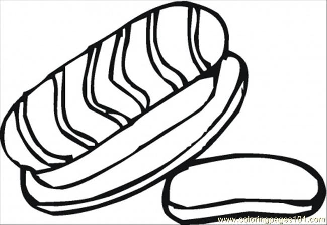 meats coloring pages - photo#18