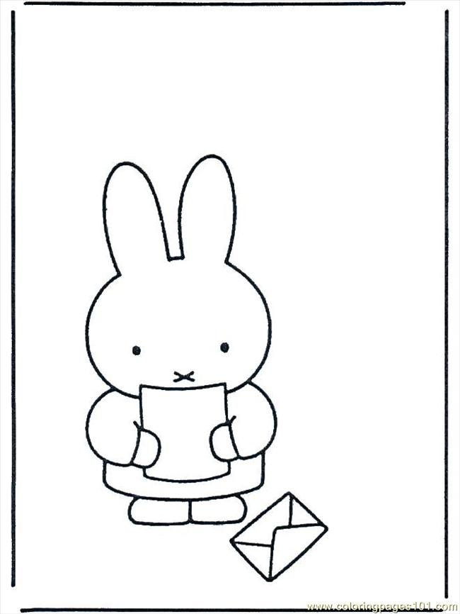 miffy and friends coloring pages - photo#23