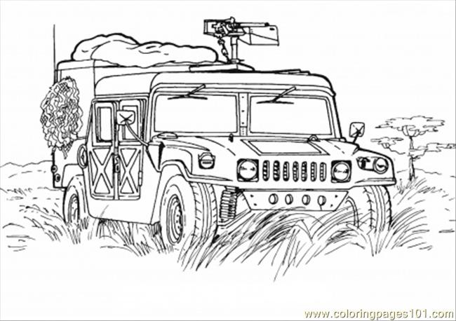 hmmwv schematic top