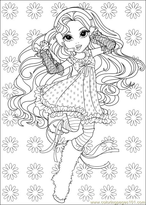 Coloring Pages Moxie Girlz 11 Cartoons Gt Miscellaneous Moxie Girlz Colouring Pages