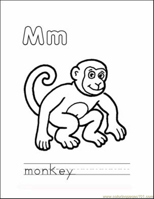 year of the monkey coloring pages