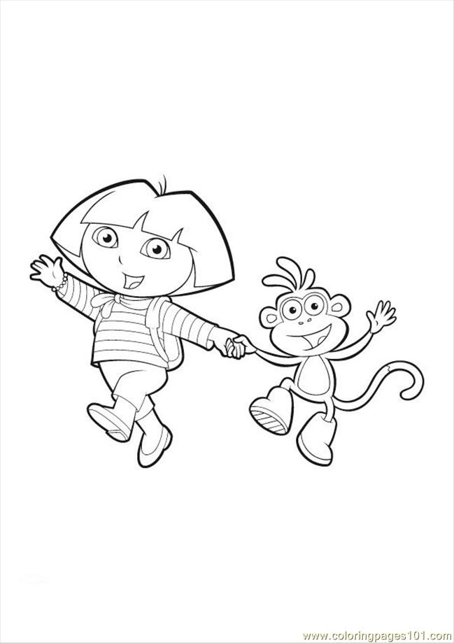 Free Coloring Pages Of Spider Monkey