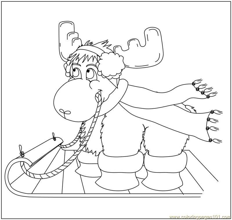 coloring pages manitoba moose - photo#14