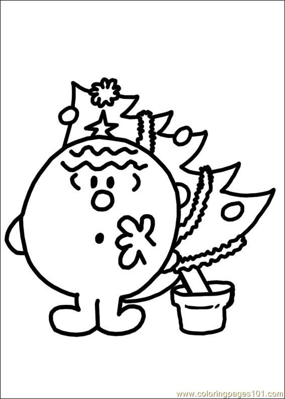 mr men books coloring pages - photo#23