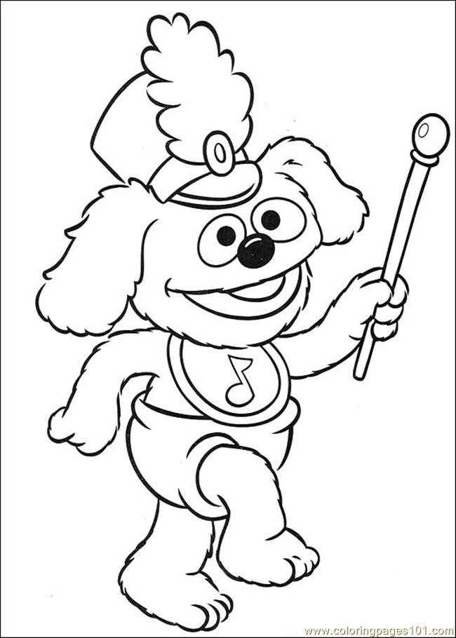 Coloring Pages Muppet Babies 39