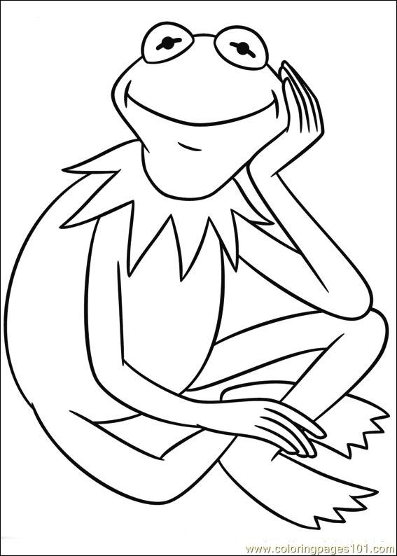 Coloring Pages Muppets 06 Cartoons