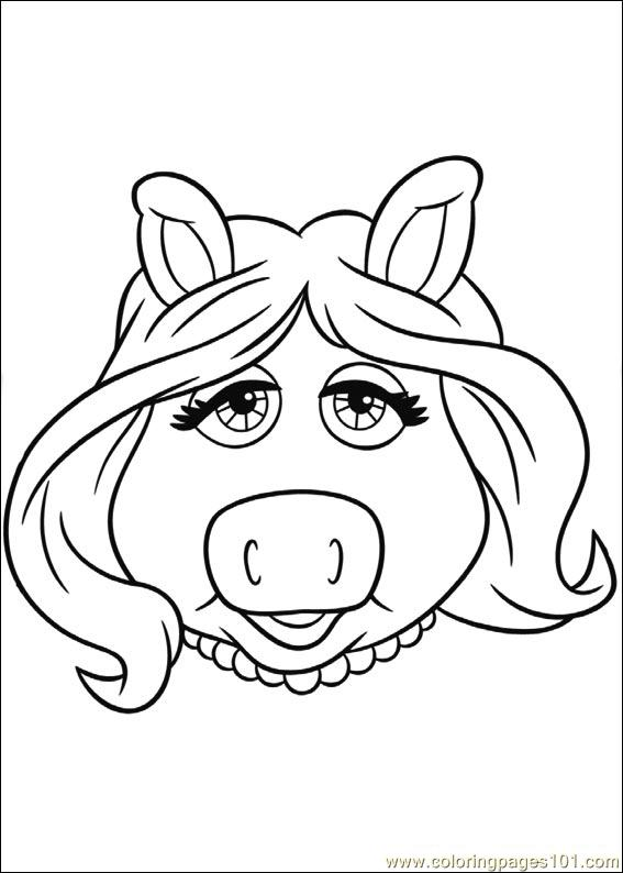 Muppets 09 Coloring Page