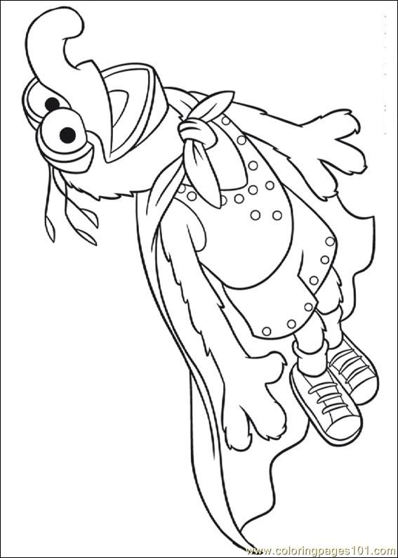 Coloring Pages Muppets 10 Cartoons