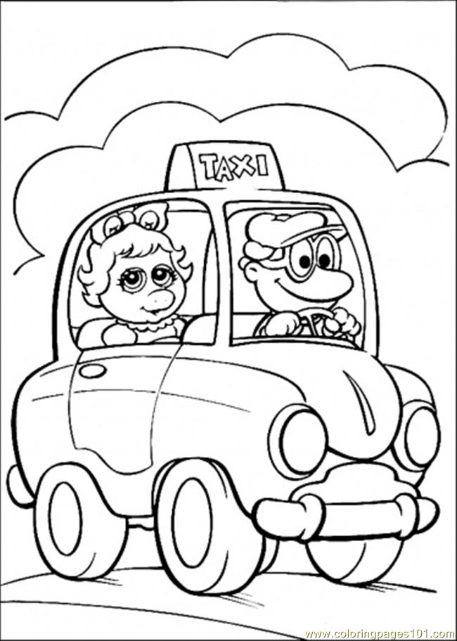 Muppet babies printable coloring pages free coloring pages for Muppet babies coloring pages