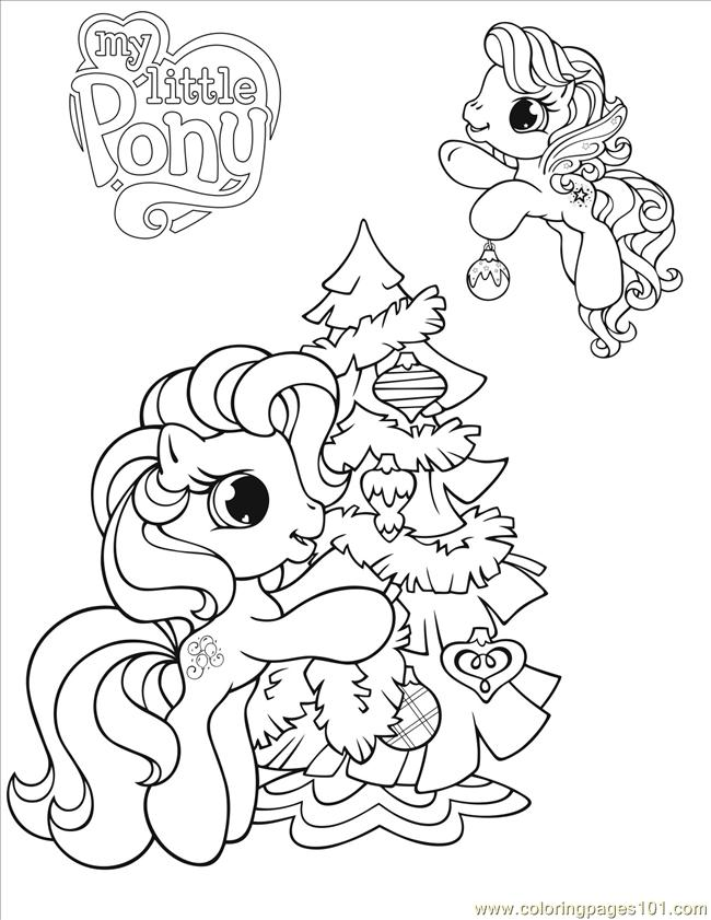 December 10 G3 And G4 Mlp Colouring Pages