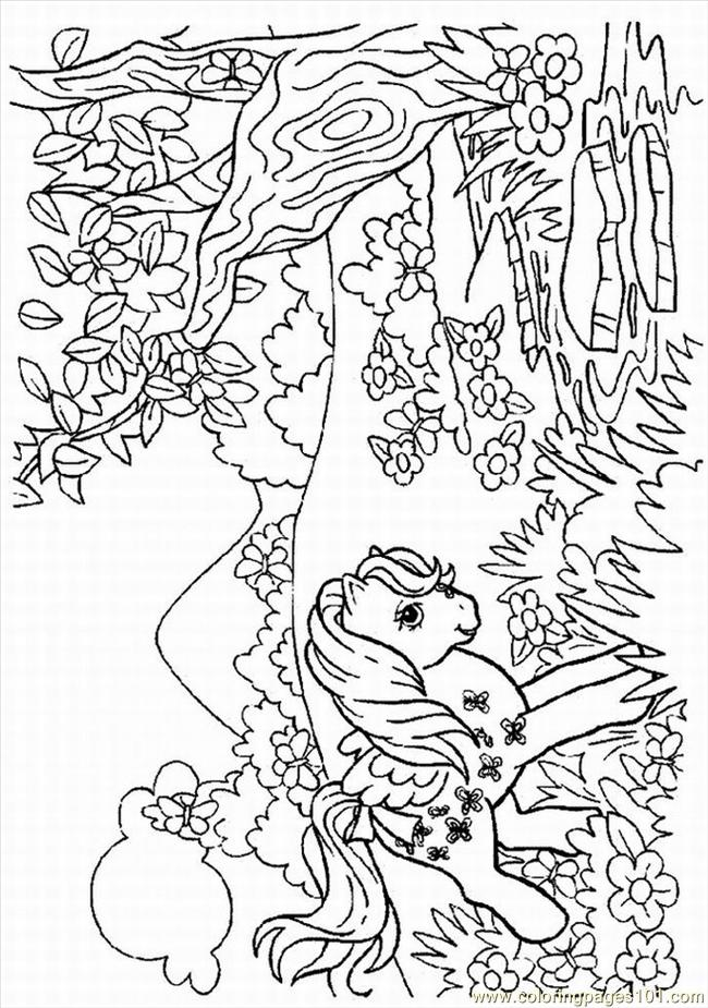 Coloring Pages My Little Pony Pdf : Coloring pages little pony cartoons gt my