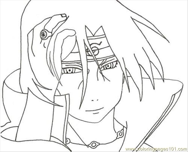 online naruto coloring pages - photo#5