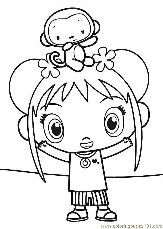 kai lan coloring pages coloring pages ni hao kai lan 09 cartoons ni hao kai