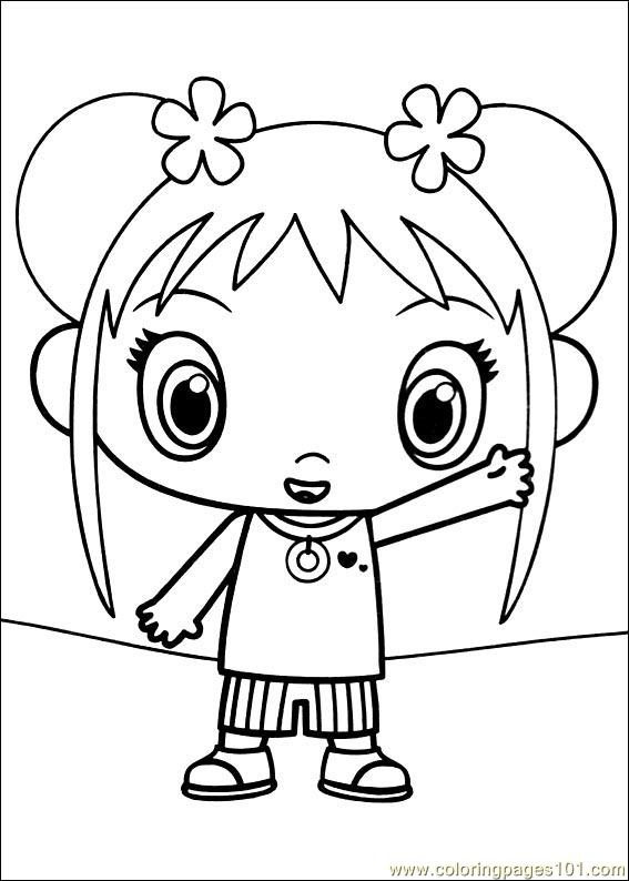 kai lan coloring pages - photo#2