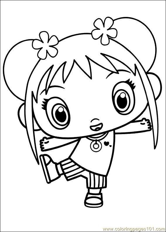 kai lan coloring pages - photo#19