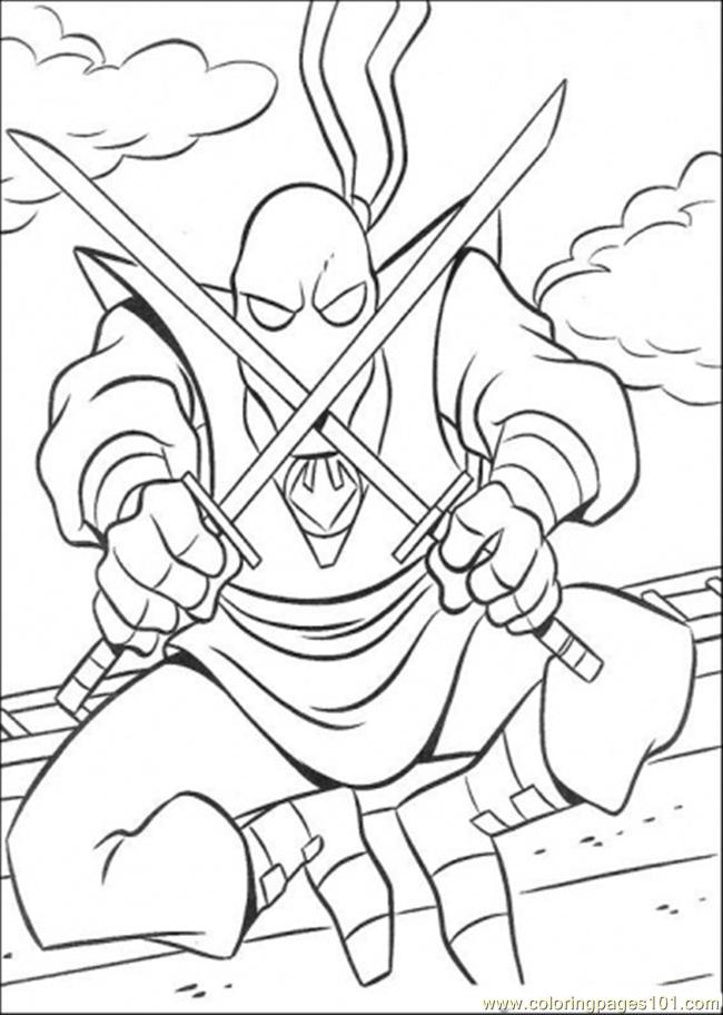 ninja turtle coloring pages splinter - photo #20