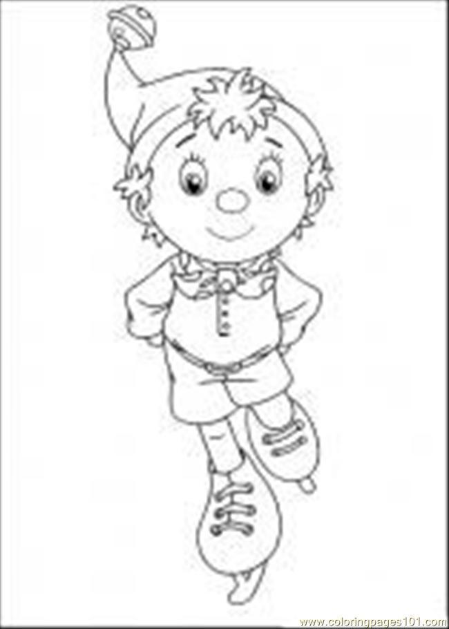 Coloring Pages Noddy2 Cartoons Gt Noddy