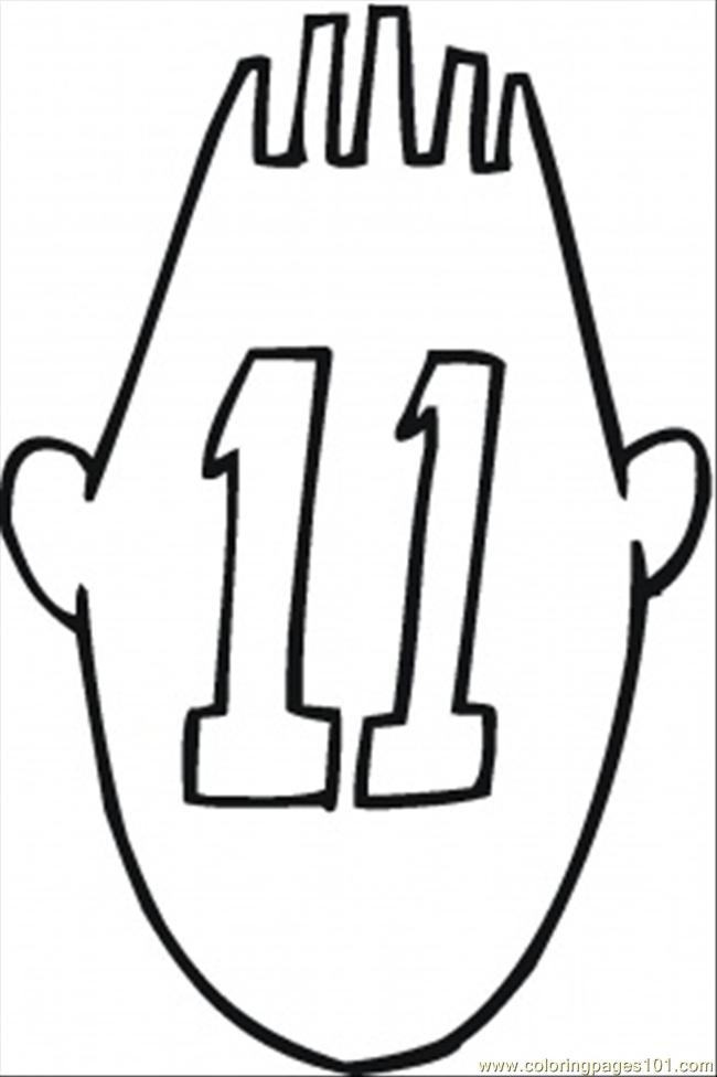 Numbers 11 20 Coloring Pages Coloring