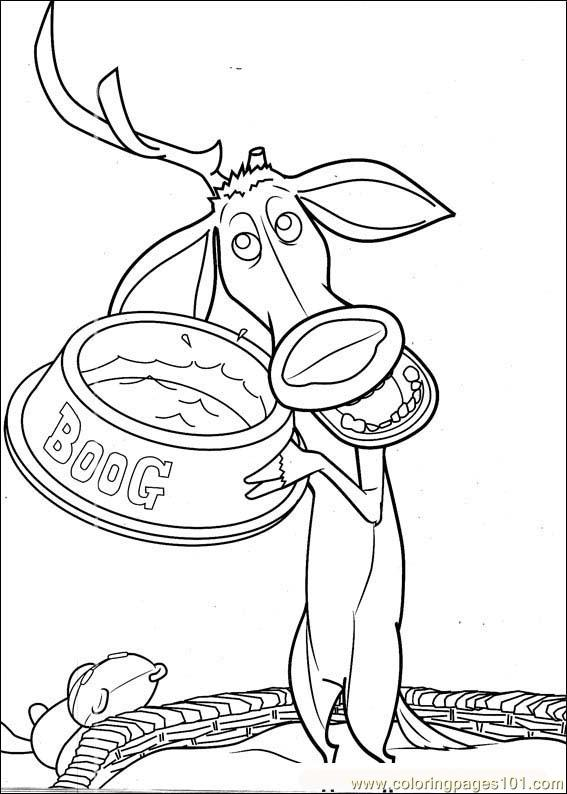 Coloring Pages Open Season 06 Cartoons gt Open Season