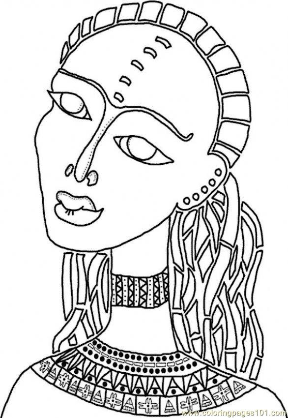 free african american coloring pages - photo#7