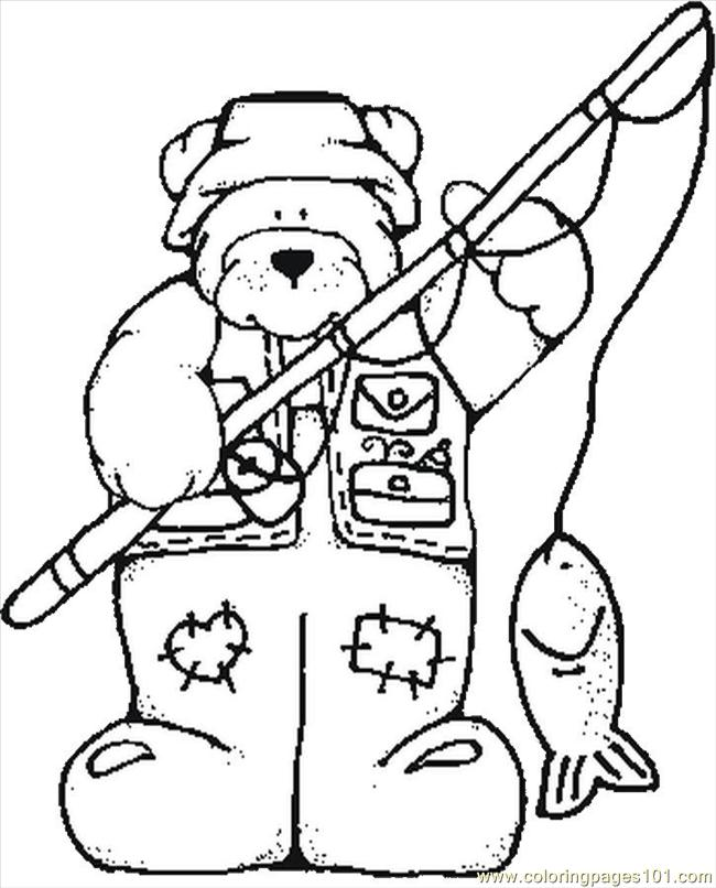 bear hunt coloring pages - photo#28