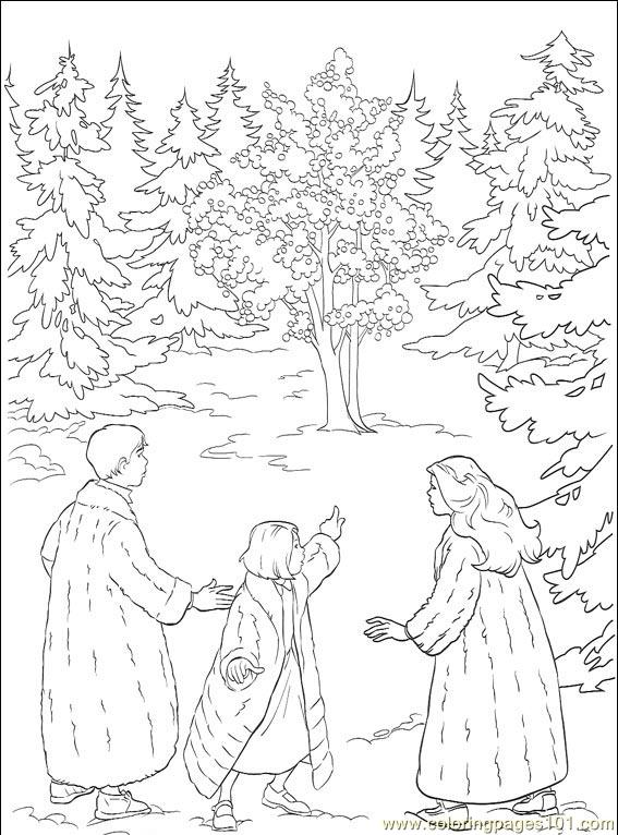 Coloring Pages Narnia 001 5 Cartoons Gt Others Free