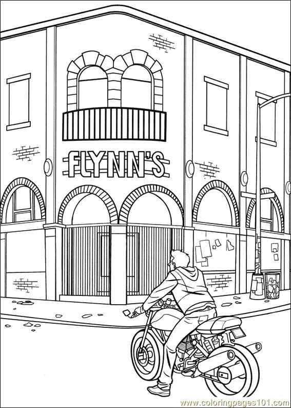 Coloring Pages Tron 01 (Cartoons > Others) - free ...