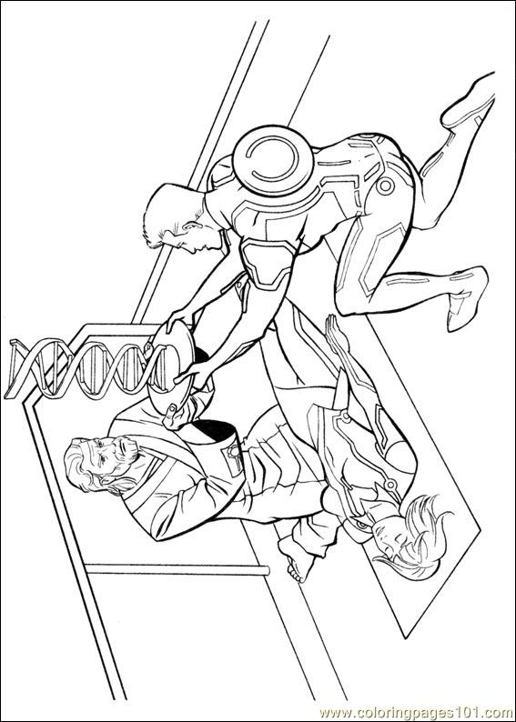 tron coloring pages to print - photo#18