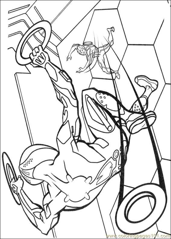 tron coloring pages to print - photo#15