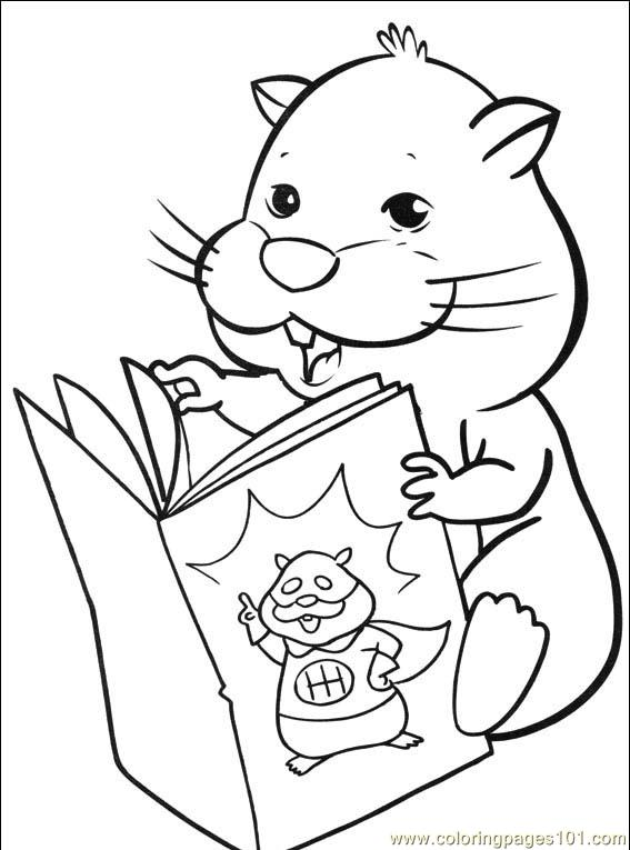 coloring pages of zuzu pets - photo#18