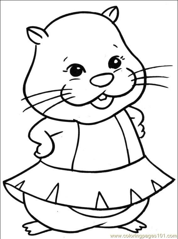 Coloring pages zhu zhu pets 001 2 cartoons others for Zhu zhu pets coloring pages