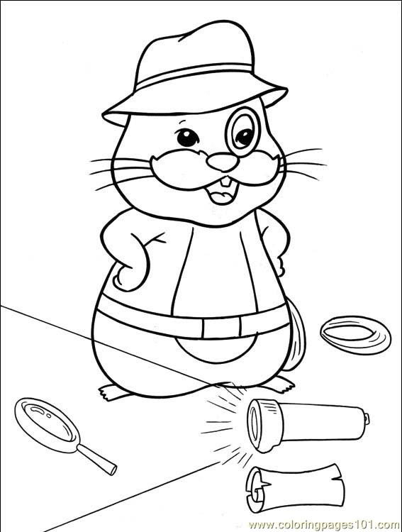 Coloring pages zhu zhu pets 001 5 cartoons others for Zhu zhu pets coloring pages