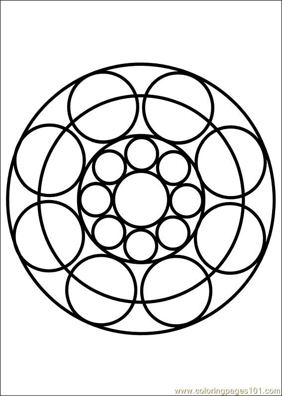 coloring pages mandala 087 other painting free