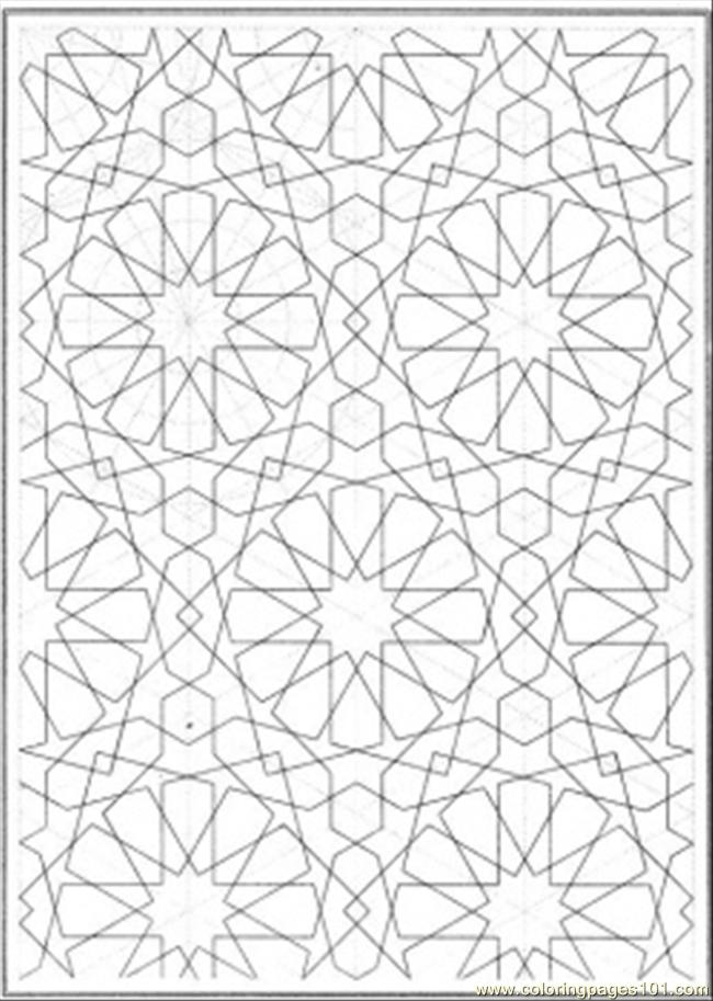 pattern coloring pages printable free - photo#5