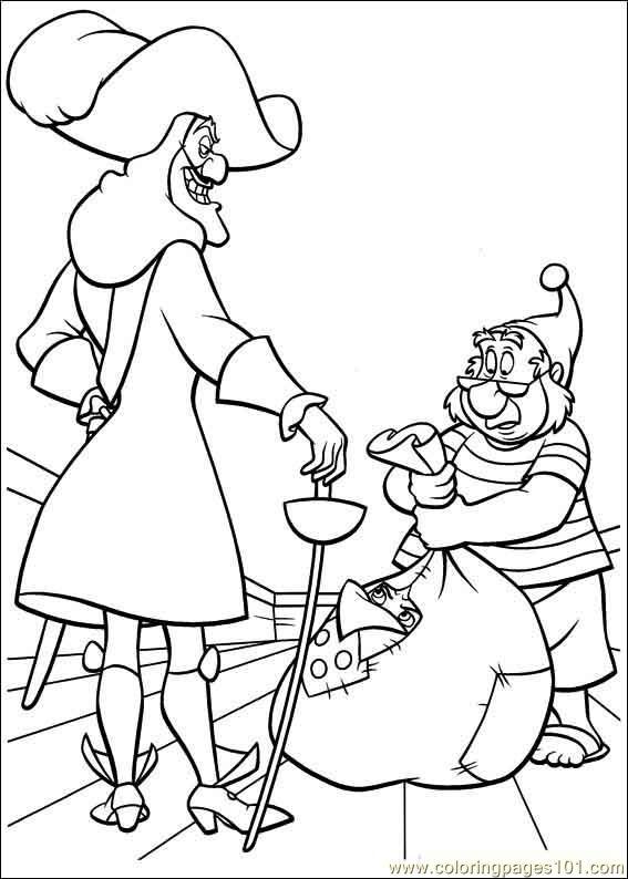 Coloring Pages Peter Pan 18 Cartoons gt Peter Pan free