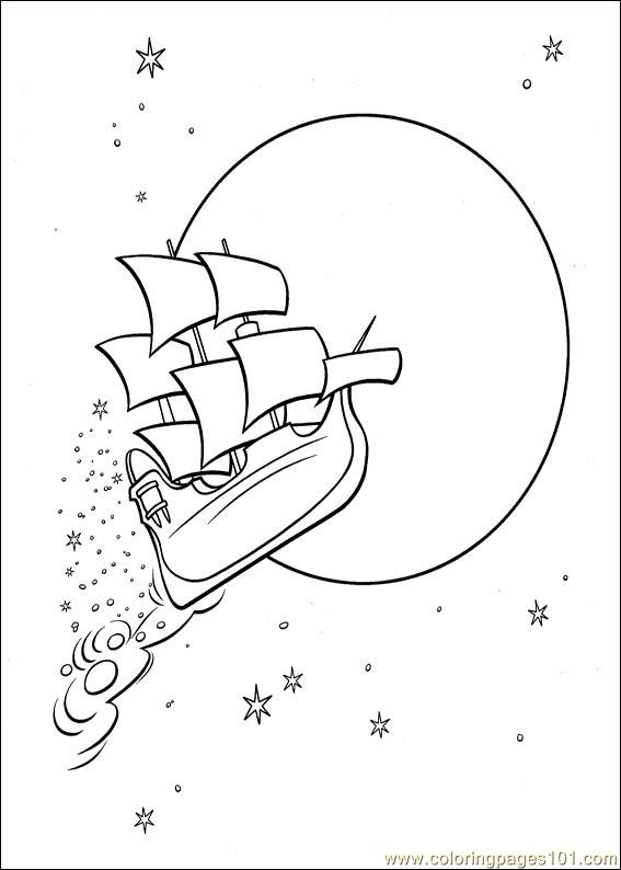 Coloring Pages Peter Pan 29 Cartoons Gt Peter Pan Free
