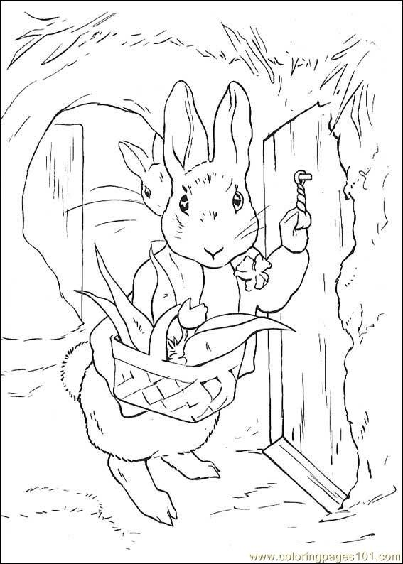 Coloring Pages Beatrix Potter