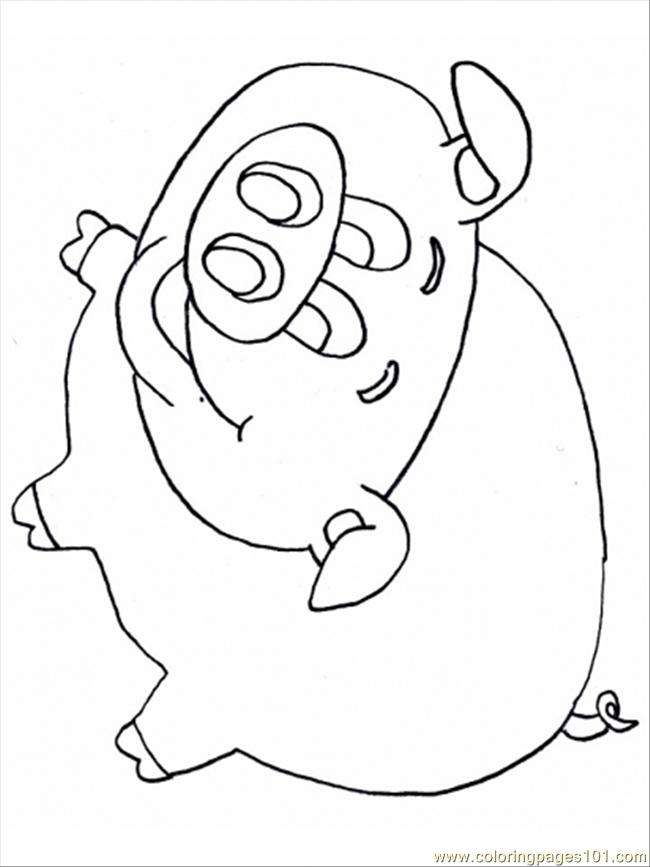 mercy watson coloring pages - photo#5