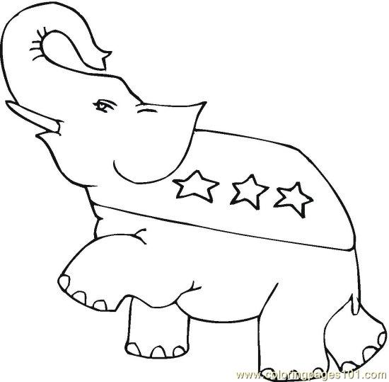 coloring pages vote - photo#28