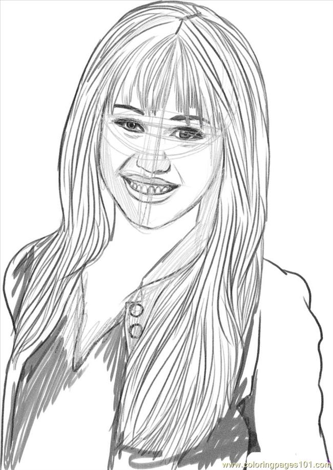 Hannah Montana Printable Coloring Pages Image Search Results