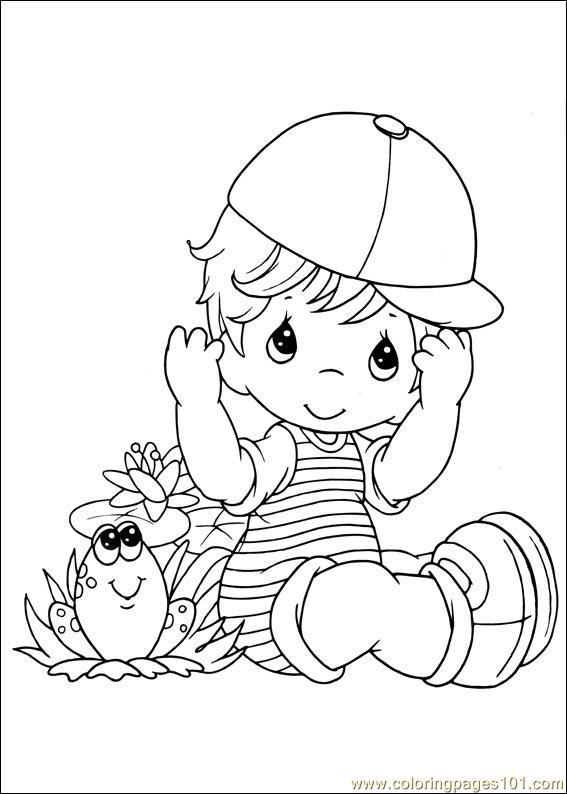Coloring Pages Precious Moments 02 Cartoons Gt Precious Free Printable Precious Moments Coloring Pages