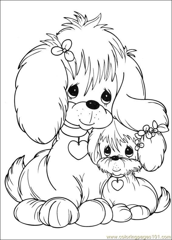 prcious moments coloring pages - photo#31