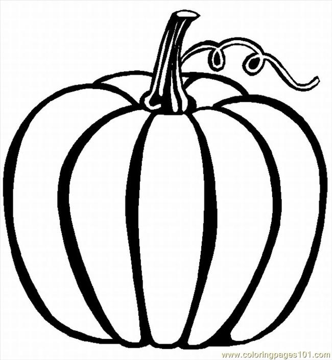 Coloring Pages Pumpkin 02 Lrg Food