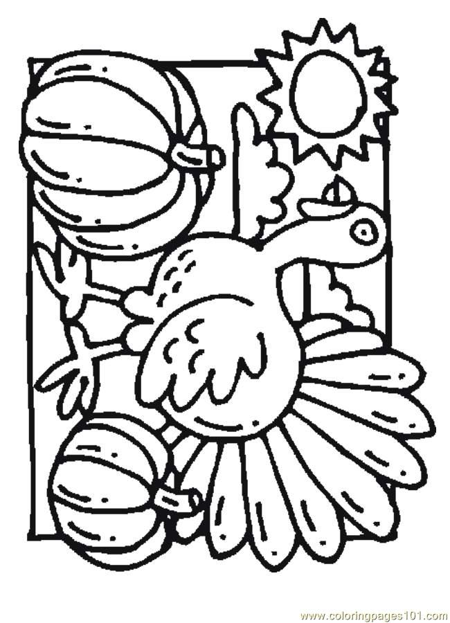 thanksgiving pumpkins coloring pages - photo#28