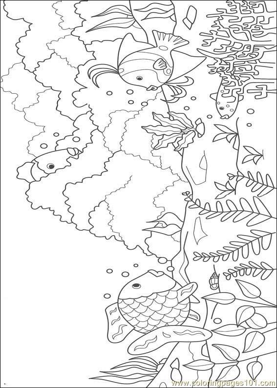 coloring pages rainbow fish 02  cartoons  u0026gt  rainbow fish