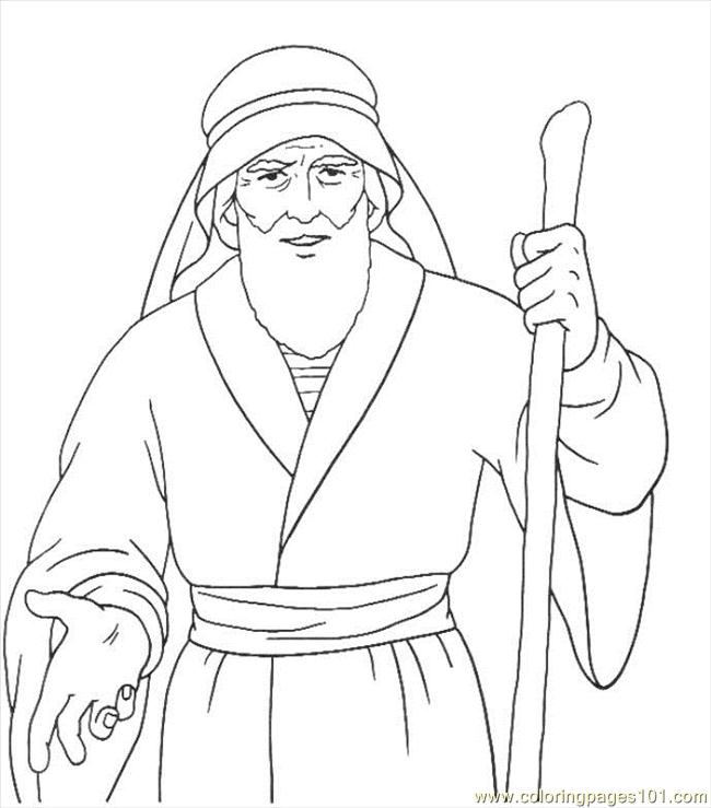 Peter Preaching Coloring Page Coloring Pages